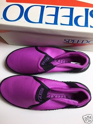 Women's Orchid Water Sport Vintage Speedo Shoes Size 3 New In Box