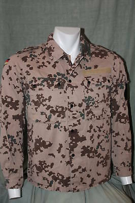 German Tropentarn Combat Shirt BDU - Size Small