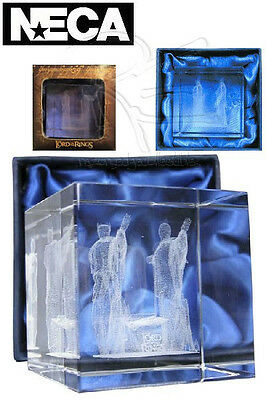 Neca Lord of the Rings The Argonath Laser Etched Paperweight New