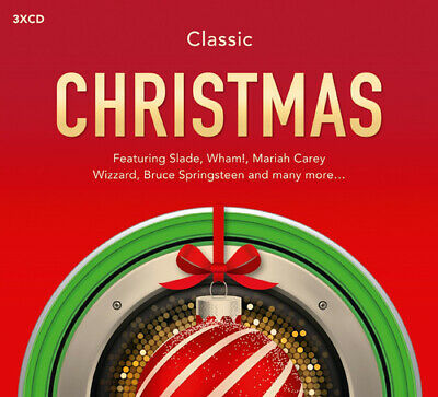Various Artists : Classic Christmas CD 3 discs (2015) FREE Shipping, Save £s