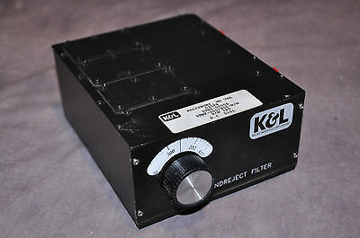 K&L Tunable Bandreject Filter 3TNF-200/400-N/N 200-400Mhz