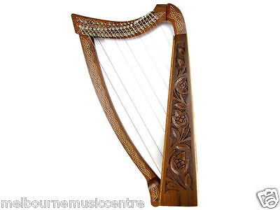 BEDWYR HARP 22 Strings With Levers 3 Octaves Range C-C *w/Tuner & Strings* NEW!