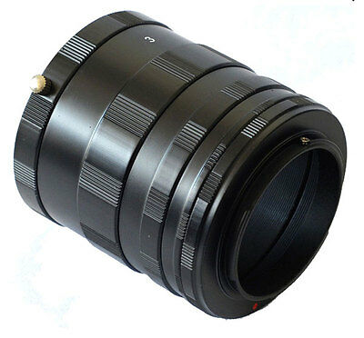 3 Ring Macro Extension Tube for Nikon G/F/AI/AIS Lens D7200 D7100 D5200 D800 D90