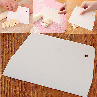 Sugarcraft Scrapers Cake Decorating Fondant Icing Smoother Mould Mold Tool