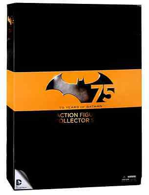 DC COLLECTABLES BATMAN 75th ANNIVERSARY ACTION FIGURE COLLECTORS BOX SET 1