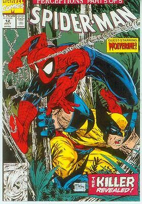 Marvel Comics Postcard: Spiderman # 12 cover (Todd McFarlane) (USA, 1991)