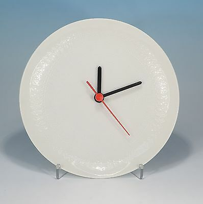 Rosenthal Romance in White Wall Clock