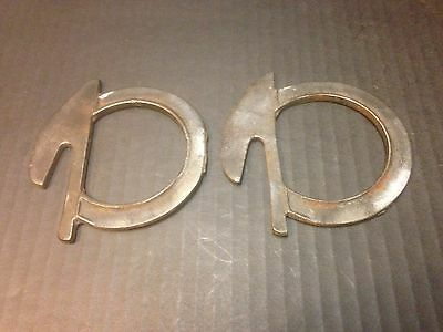 Antique Vintage Bed Bracket Parts
