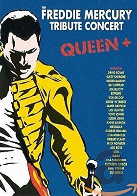 Queen + The Freddie Mercury Tribute Concert DVD New & sealed R4