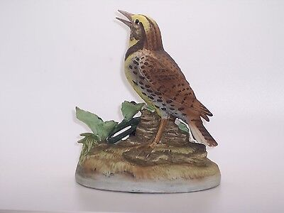 Andrea by Sadek Meadow Lark Porcelain Bird