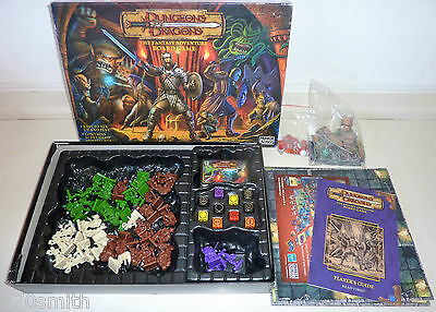 Spare Parts Dungeons & Dragons Board Game Figures Cards Dice Rules