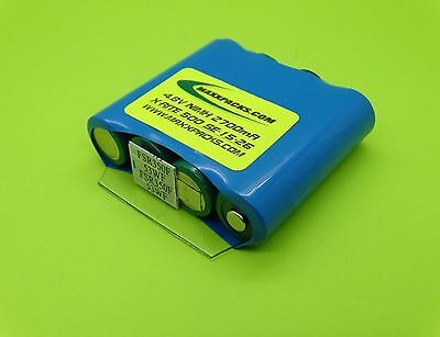 NEW SANYO 2700mA CAPACITY X-RITE BATTERY FOR MODELS 504, 508, 518 / MADE IN USA