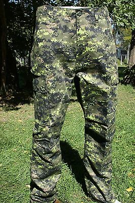 Cadpat Canadian Digital Para Pants M-65 Design  Size: X Large/ Waist  39-43""