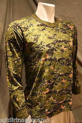 Canadian Digital Camo Long Sleeve T-shirt -  X Large