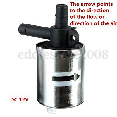 12V DC Small Solenoid Valve Metal Shell for Gas Water Air N/C Normally Closed