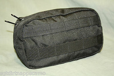 Black Tactical Fanny Shingle Molle Pouch