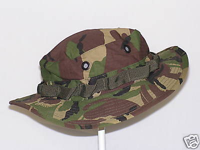 """British DPM Boonie  """"Ripstop Material""""     Size -   Small/ Medium/  size 57"""