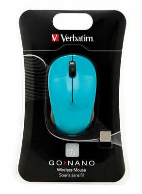 $0 P&H Genuine Verbatim Wireless Optical Nano Mouse - Blue Reorder #: 96902