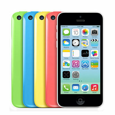 32GB Apple iPhone 5C Unlocked Factory Smartphone Blue White Pink Green A+++