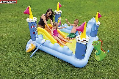 Intex Fantasy Castle Play Center Pool Planschbecken Schwimmbecken Wasserrutsche