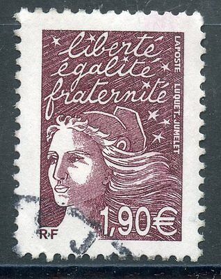 TIMBRE FRANCE OBLITERE N° 3575 TYPE MARIANNE / Photo non contractuelle