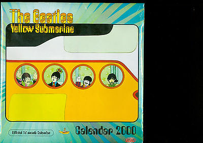 The Beatles Yellow Submarine  Calendar 2000 /sealed