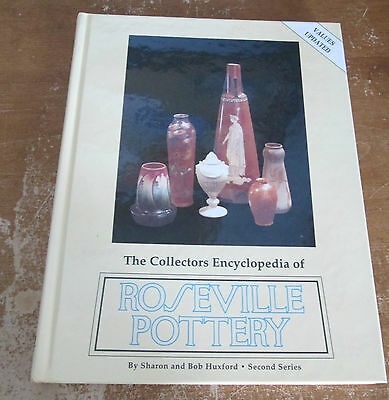 Roseville Pottery Collectors Encyclopedia Reference Book 1997 Updated HC EUC