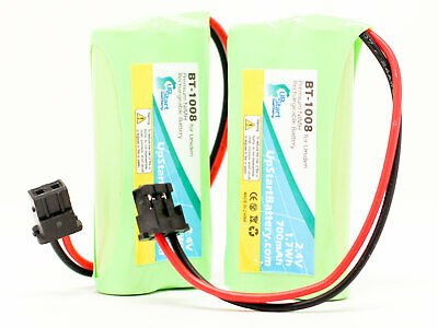 2x Battery for Uniden D1680, D2997, D1780-2, DWX207, DECT1588 Cordless Phone