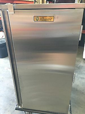 Alluserv Stainless Steel Room Service Tray Delivery Cart NEW TEXAS