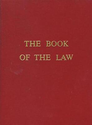 The Book of the Law by Aiwass Paperback Book (English)