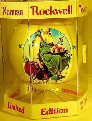 Norman Rockwell 1980 Christmas Ornament By Dave Grossman New