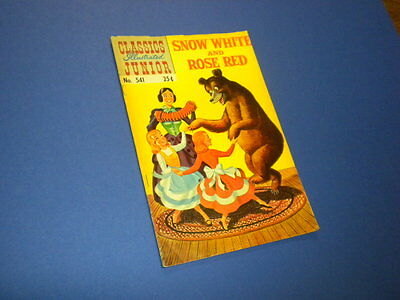 Classics Illustrated Junior #541 Snow White And Rose Red 1968 (Hrn 576)