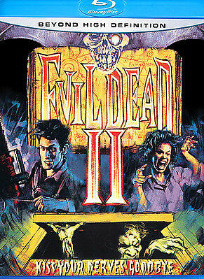Evil Dead 2: Dead by Dawn (Blu-ray Disc, 2007) NEW Out-of-Print Edition!