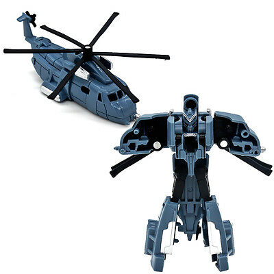 1Pcs Robots Toys MiniFigures Block Kids Educational Helicopter Gift Model