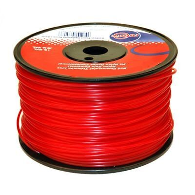 """Red Commercial Trimmer String Line .95"""" X 280' 1lbs Spool"""