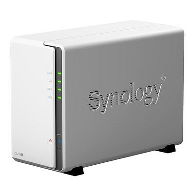 Synology DiskStation DS216j (2-Bay) Network Attached Storage Marvell (1.0GHz)