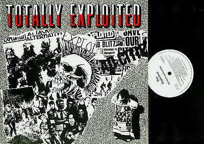 LP- The Exploited ‎– Totally Exploited
