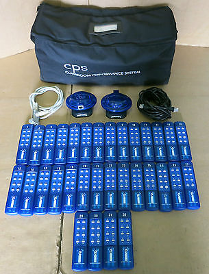 CPS Optivote Classroom Performance Voting System 32 Handsets Boardroom Education