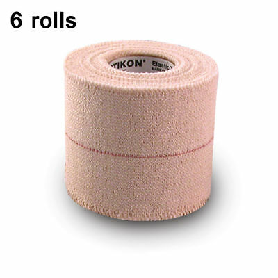 """Elastikon Elastic Athletic Tape, 2"""" x 2.5 yds - 6 tapes in a box"""
