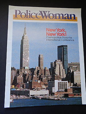 POLICE WOMAN MAGAZINE, SEPTEMBER, 1987. iNTL ASSOCIATION OF WOMEN POLICE (IAWP)