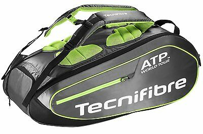 TECNIFIBRE Tour Ergonomic ATP 9 PACK tennis racquet bag - Authorized Dealer