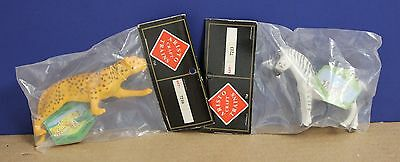 Aristo-Craft Circus 7213  G Scale Zebra & 7216 Tiger Mint in Package