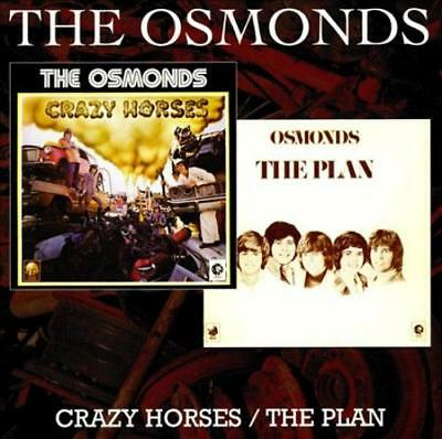 The Osmonds - Crazy Horses/the Plan Used - Very Good Cd