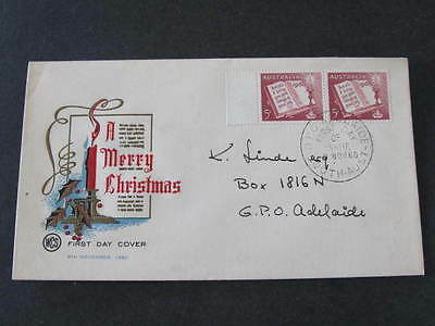 Christmas 1960 Australia FDC FDI First Day of Issue Stamp Cover