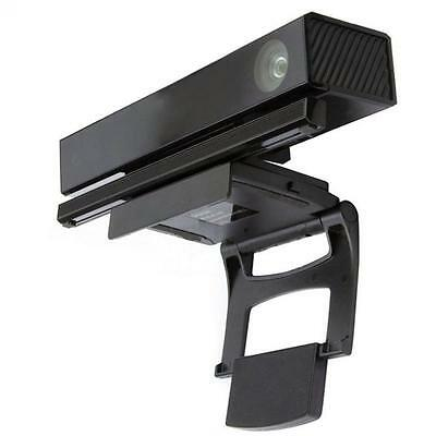 Black Clip Stand Holder Mount on TV  for Xbox 360 One Kinect 2.0 Sensor Game