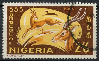 Nigeria 1965-6 SG#182, 2s6d Kobs Definitive Used #D19238