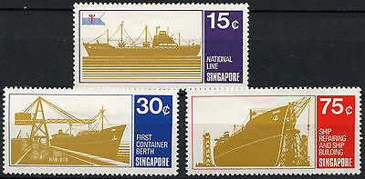 Singapore 1970 SG#143-5 Shipping Used Set #D18532