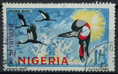 Nigeria 1969-72 SG#228, 1s3d Birds Definitive With Imprint Used #D19253