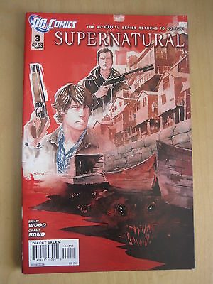 Supernatural # 3.  The Cult Hit Cw Tv Series. 2012