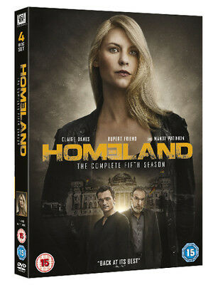 Homeland: The Complete Fifth Season DVD (2016) Claire Danes ***NEW***